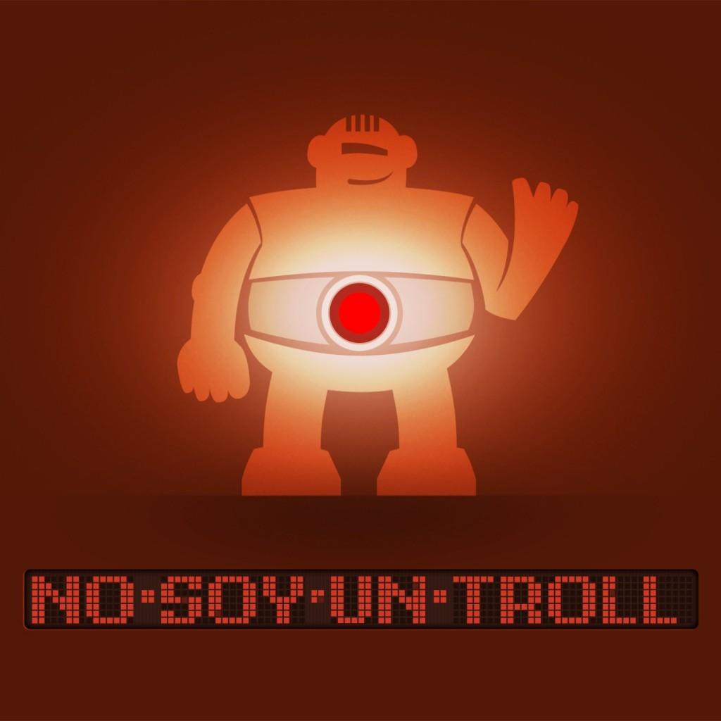 Logo de No Soy Un Troll Podcast. El reboot