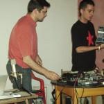 Taller de microfonos y mesas de mezcla